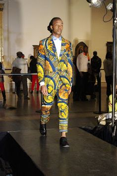 African Prints in Fashion: Fashion Show: Afrika21 @ The Brooklyn Museum