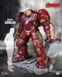 Details on Life-Size Avengers Statues by Beast Kingdom