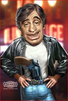 Jean Paul Belmondo Caricatures Politiques, Celebrity Caricatures, Cartoon Faces, Funny Faces, Create A Comic, Funny Cartoons, Art Pictures, Funny Pictures, Pencil Drawings