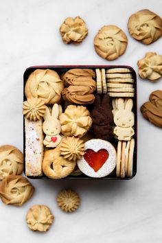 If you asked me what is the one thing I love baking and photographing more than anything else I would not even hesitate for a moment to t. Cookie Box, Cookie Gifts, Food Gifts, Japanese Cookies, Colored Cookies, Perfect Chocolate Chip Cookies, Buttery Cookies, Butterscotch Chips, Cute Cookies