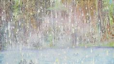 "Peter Doig, ""Cobourg 3+1 More"", 1994, 200 mal 250 Zentimeter"