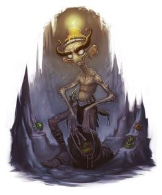 The pech were a type of gnome-like creatures in Scottish mythology. They were of short height but extremely strong. They brewed heather ale and battled against the Scots.