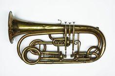 Valve Trombone, Brass Musical Instruments, Sousaphone, French Horn, Trumpets, Music Stuff, Horns, Band, Oc