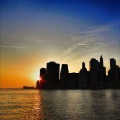 New York Sunset - @crimun