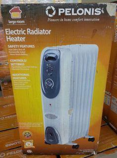 Cozy Heater 400 Watt Wall Mounted Electric Heater With