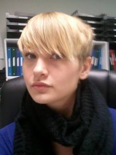 americas next top model makeover short hair cut - Google Search