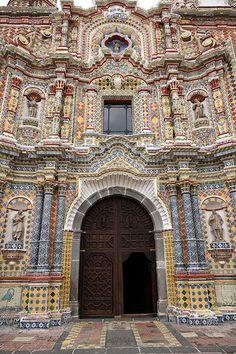 Acatepec (Cholula), México - Iglesia de San Francisco