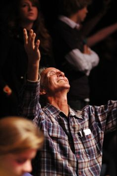 All Ages worshiping Jesus All Hail and give Praise, worthy of their position.