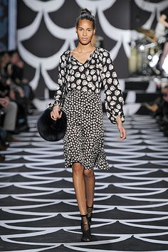 Look #4  - Bohemian Wrapsody - Fall 2014 #NYFW http://on.dvf.com/PINFALL2014