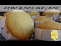 Mantecadas de Astorga, caseras y sabrosas - Muy fácil Spanish Dishes, Spanish Food, Mantecadas Recipe, Flan, Yummy Cakes, Cupcakes, Mexican Food Recipes, Cravings, Bakery