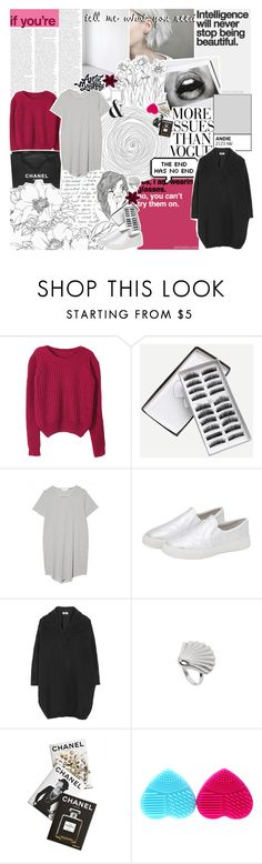 """""""MIND"""" by seasidevibes-xo ❤ liked on Polyvore featuring Paige Denim, Chicnova Fashion, Chanel, The Lady & The Sailor, Wassup, MM6 Maison Margiela, Assouline Publishing and MeenaGotTagged"""