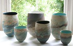 Clare Conrad - stoneware ceramics - Inspiration and technique