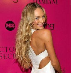 Candice Swanepoel - hair