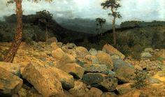 Исаак Ильич Левитан » Малоизвестные картины, пейзажи » Крымский пейзаж