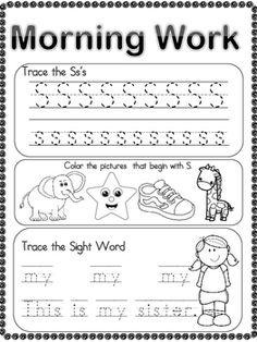 16 Best Morning Work images in 2018   Kindergarten morning