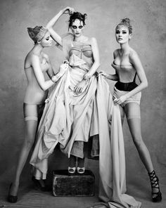 Dior Couture by Patrick Demarchelier Magdalena Frackowiak Sasha Pivovarova Monika Jagaciak