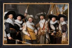 Art in Space: Jan Anthonisz. van Ravesteyn: The officers of the White company of Saint Sebastian civic guard of The Hague (1638)