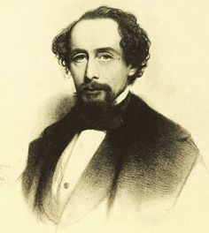 Charles Dickens:  The most popular English novelist of the Victorian era. He was a vigorous social campaigner, both in his own personal endeavours as well as through the recurrent themes of his literary enterprise. Date: 1858. Artist: Charles Baugniet.