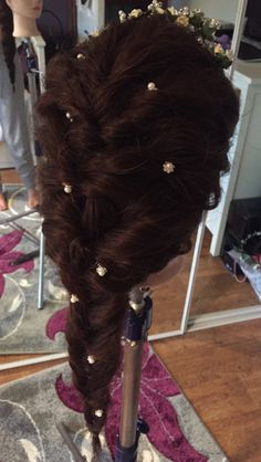 Bridal braid done by 14 year old. Gorgeous yet quick to do ❤️