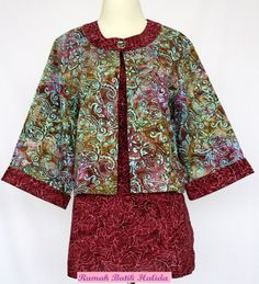 Blouse Batik Doubel Top IDR 135.00