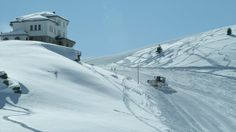 The ski-path is suited for a number of ski disciplines - freeride skiing outside the paths is an unforgettable experience. The upper part of the ski terrain is covered… Skiers, Macedonia, Searching, Paths, The Outsiders, Commercial, Rocks, Trees, Number