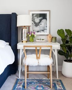 """17.3k Likes, 131 Comments - west elm (@westelm) on Instagram: """"When your morning commute is literally stepping out of your bed.  #WFH #mywestelm photo from…"""""""