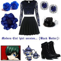 """Ciel"" by ciels-and-sebbys-kitty on Polyvore"