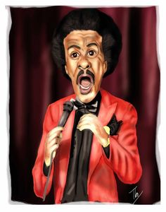Richard Pryor (Caricature) Dunway Enterprises…