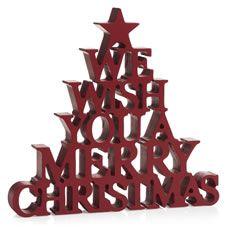 Wilko Merry Christmas Wood Decor - £6