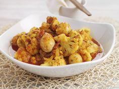 Würziger Kartoffel-Blumenkohltopf
