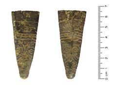 Late Medieval to Post Medieval: Chape Scabbard, english