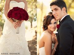 Wedding | Red Rose Bouquet