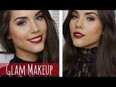 ***OPEN ME*** Hi Guys! IT'S NEARLY CHRISTMAS EEK! And with that in mind I thought I would create this Holiday Glam look for you :) DON'T FORGET TO SUBSCRIBE!...