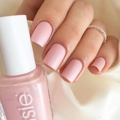 this warm pearly-plush pink sews up any look from casual Friday to creative couture. 'just stitched' by essie.