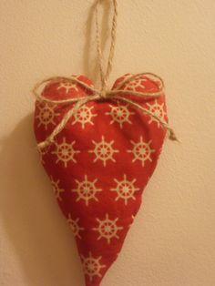 Another hanging heart made for a friend.