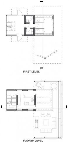 Tower House by Gluck  | HomeDSGN