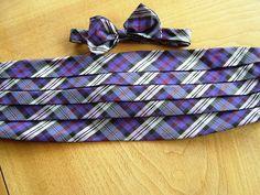 Gent's set in McKenzie tartan silk [old colours] .Bespoke at www.exclusivelyyours.co in Scotland.