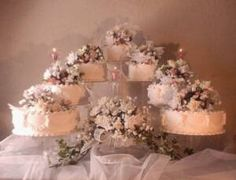 www.efavormart.com - 7 Tier Cake Stand, Wedding Supplies, Cake Stands and Toppers, Wedding Accessories, Party Supplies