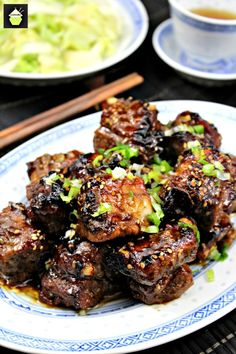 Sticky Sweet Chinese Ribs!