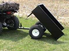 Single axle ATV trailers for off-road use by Country ATV
