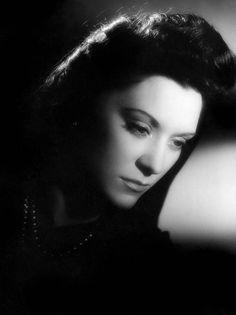 Portrait of Maria Casares