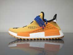 "9ac1a2819c039 Adidas NMD Human Race Pharrell Williams ""Pale Nude"" AC7361  SIZE EUR36-"