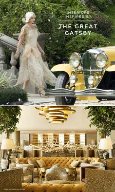 How to Create a Room Inspired by Great Gatsby and the Roaring 20's on the Interior Collective