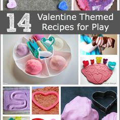 14 Valentine Themed Recipes for Play and Creating