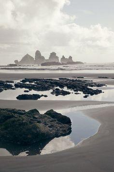 Motukiekie Beach, New Zealand