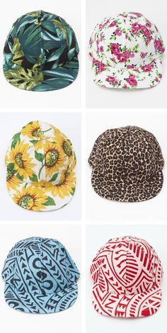 New! The Printed Cap by #AmericanApparel