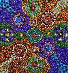 Australian Dot Art | Untitled [gallery.aboriginalartdirectory.com]