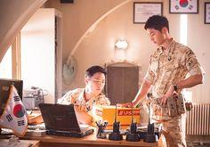 "descendants-of-the-sun:  "" ""Jin Goo & Song Joong Ki - Descendants of the Sun  "" """
