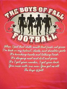 The Boys of Fall ... RTR!!