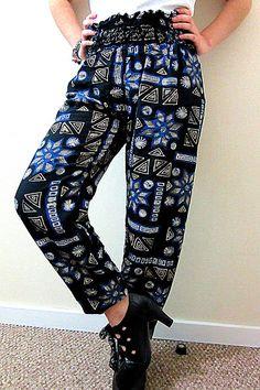 Trazado de patrones o moldería básicos gratis para hacer tu ropa. Corte y… Pallazo Pants, Harem Pants, Thai Fisherman Pants, Diy Fashion, Womens Fashion, Comfy Pants, Creation Couture, Couture Sewing, Loose Pants